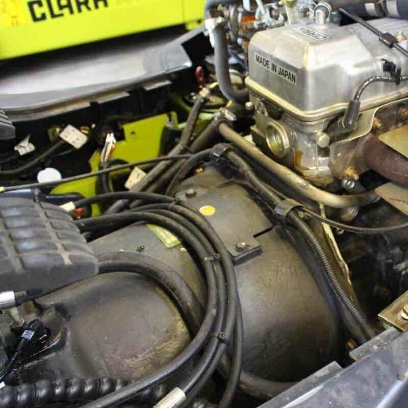 Fork truck engine